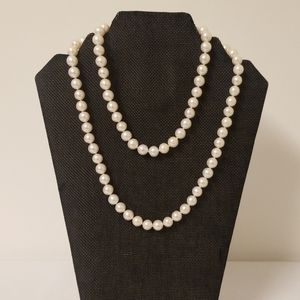Jewelry - Light Rose Natural Pearls 30""
